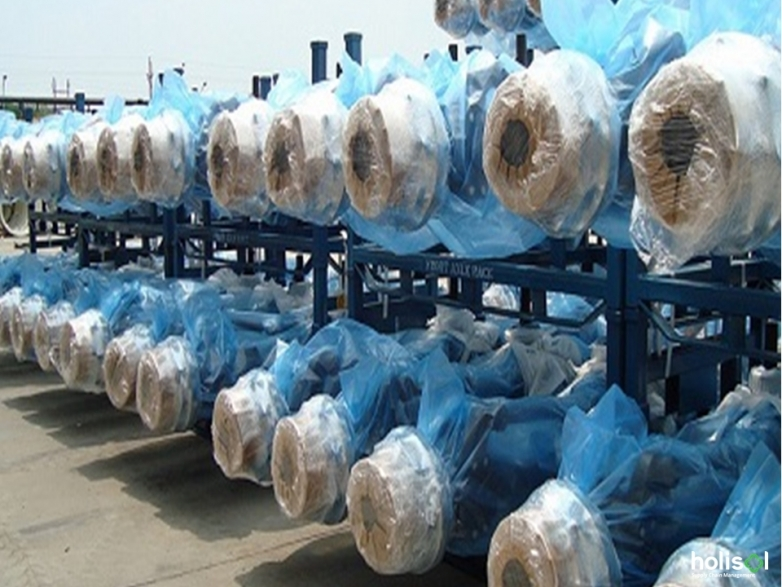 Packaging and Transporting of Axles