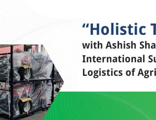 Give us an overview of the international supply chain logistics of Agri-equipment.